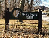 Bryn Wawr School sign